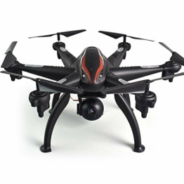 SJAPEX Faltbare Drohne mit 6-Axis Kamera HD,RC Hexacopter Quadrocopter Helikopter Ferngesteuert mit GPS Navigation Tap Fly Active Track Kopflos-Modus Höhe-halten-Funktion - 1